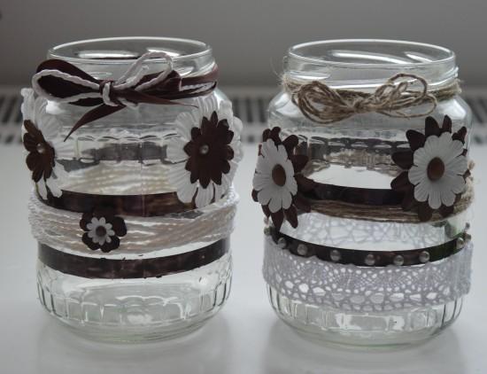 Upcycling Gläser fertig 3