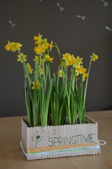 DIY Blumenkistchen