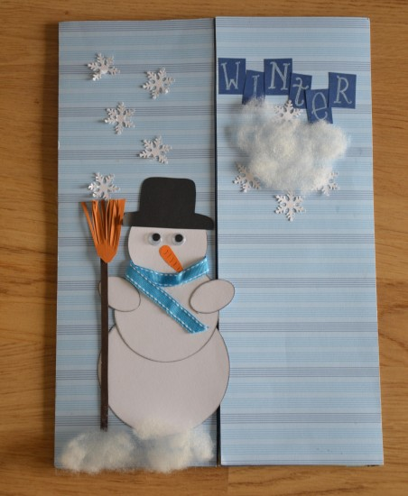Lapbook Winter Front