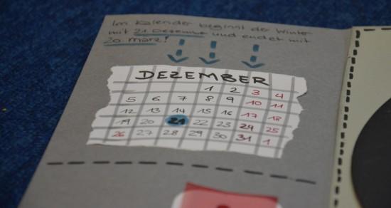 Lapbook Winter Kalender