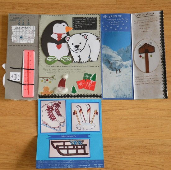 Lapbook Winter innen2