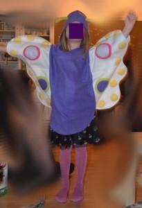 Schmetterlings Kostüm