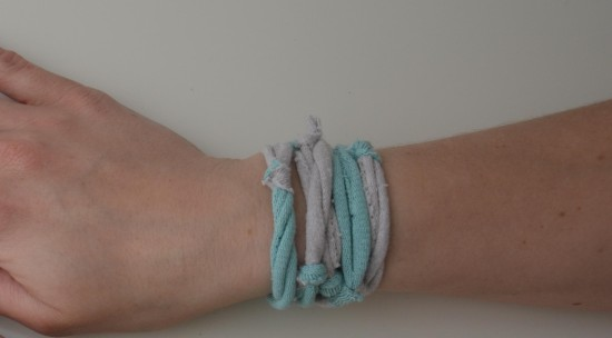 Kindersocken-Armband