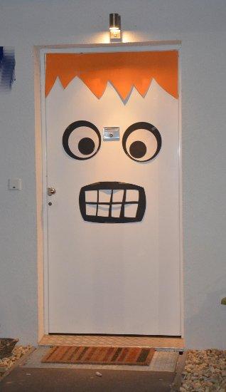 Halloween Tür