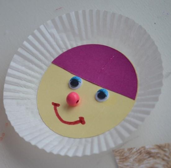 Eskimo- Gesicht